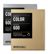 Polaroid® film Color 600 Gold/Silver Frame